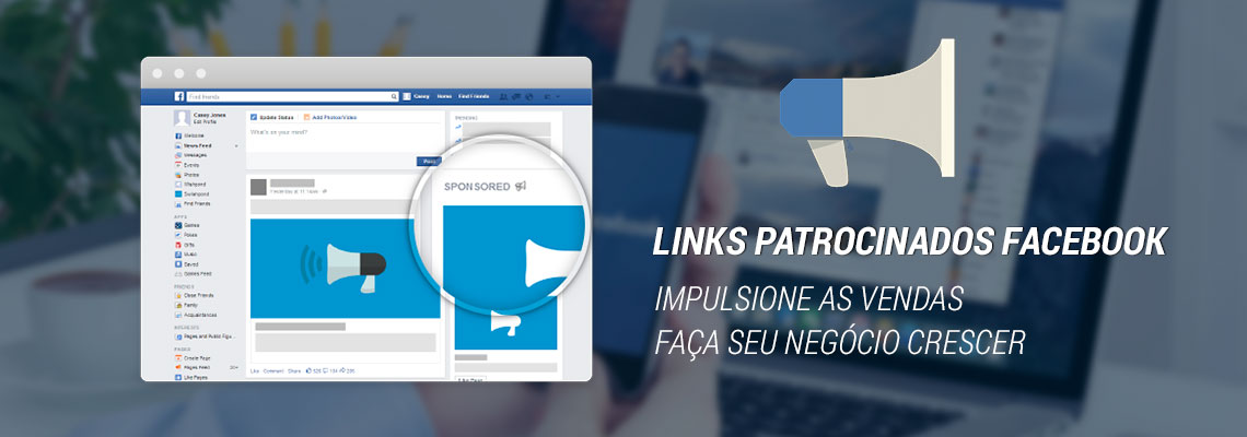 Links Patrocinados no Facebook