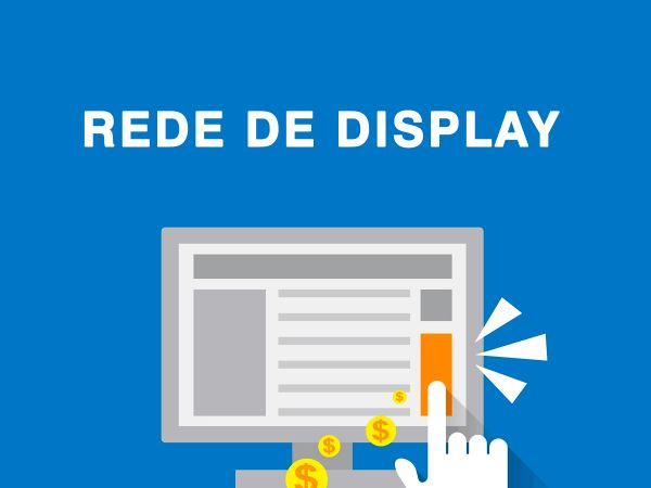 Campanha patrocinada do Google na Rede de Display